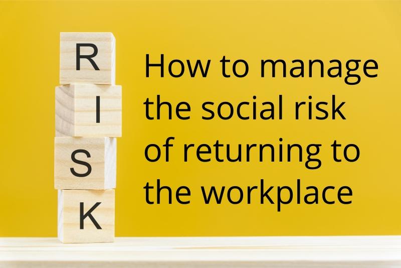social risk of returning to work